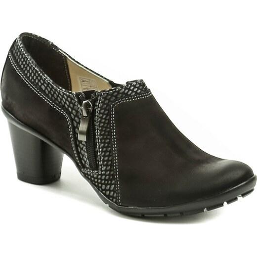 MintakaCZ Mintaka 82837-1 černá dámská obuv na podpatku - Glami.cz ff1672fb3b