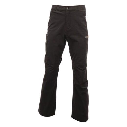 a0d235988387 Pánske nohavice Regatta Fellwalk II čierná (prodloužená veľkosť) L -  Glami.sk