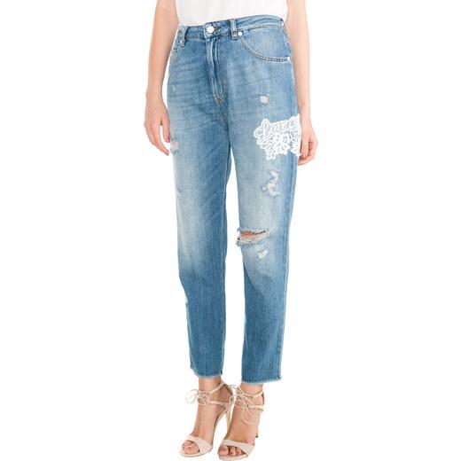 Love Moschino Jeans Modrá - Glami.cz f487a3f861
