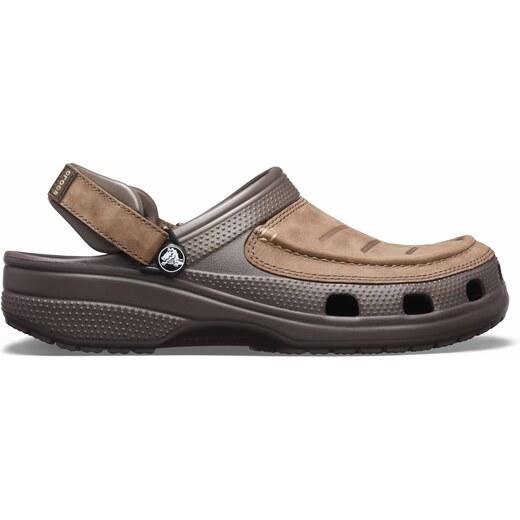 Pánské boty Crocs Yukon Vista Clog hnědá - Glami.cz 750d2ff498