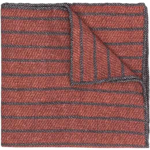 67c44df0f Eleventy striped pattern scarf - Brown - Glami.sk