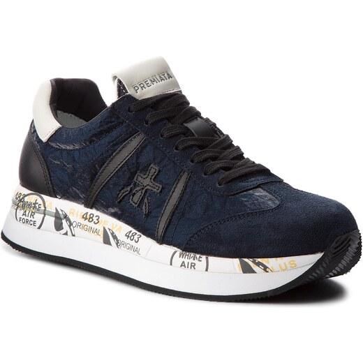532087ebf24a6 Sneakersy PREMIATA - Conny 1491 Tmavo modrá - Glami.sk