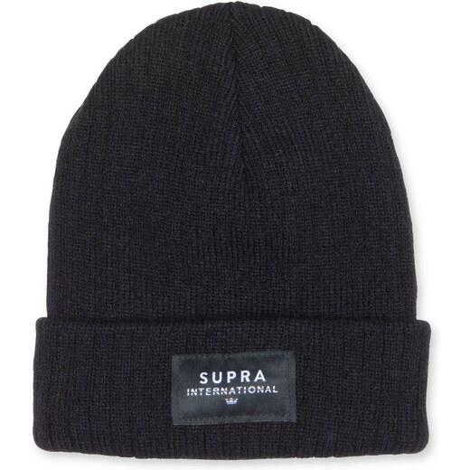 Unisex zimná čiapka Supra Icon International čierna - Glami.sk d30d66c3349