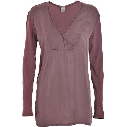 4bef47dbc059 Deha Dámské triko Long Sleeve T-shirt D63630 Rose Grey - Glami.cz
