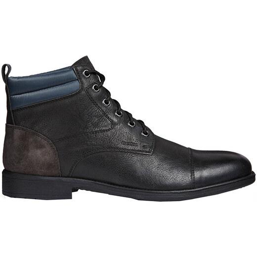 488a6f3037 GEOX Pánske členkové topánky Jaylon I BLack   Dk Grey U84Y7I-0EM22-C0005 -  Glami.sk