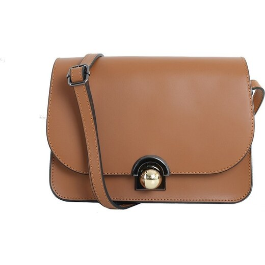 b0d1116865ee TALIANSKE Talianska malá plesová kožená kabelka luxusná crossbody medová  Elisa - Glami.sk