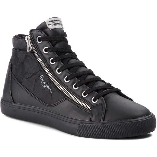 6307e23c43 Sportcipő PEPE JEANS - Marton PMS30503 Black 999 - Glami.hu