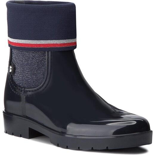 Gumicsizmák TOMMY HILFIGER - Knitted Sock Rain Bo FW0FW03565 Midnight 403 -  Glami.hu 37b5d89342