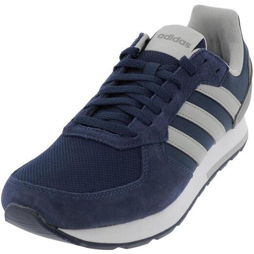 adidas Chaussures 8k vintage h bleu gris
