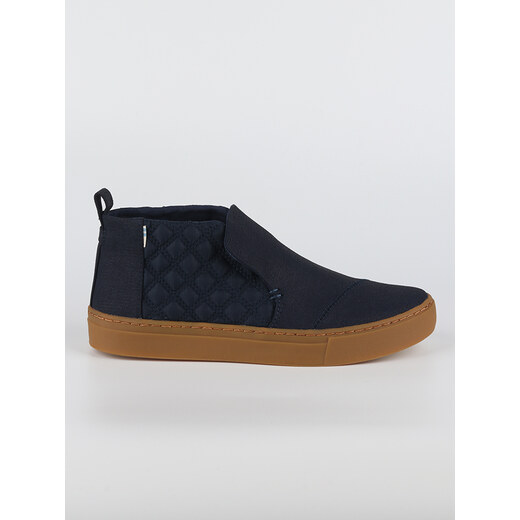 Boty Toms Navy WR Textural Canvas Quilted Nylon - Glami.cz 9cf84423ffe