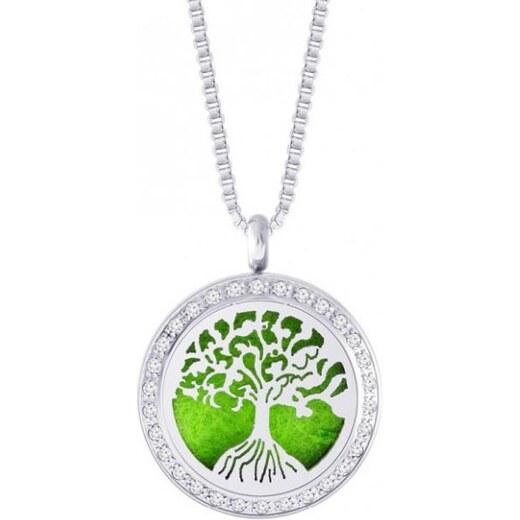 4644608fc5a Preciosa Ocelový náhrdelník se zirkony Perfumed Tree of Life 7301 00 -  Glami.cz