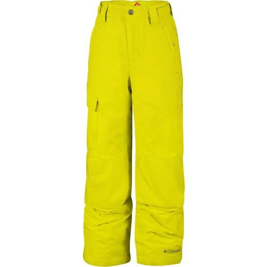 Columbia Chlapčenské zimné nohavice Bugaboo II Pant Zour - žlté - Glami.sk 12897728e4a