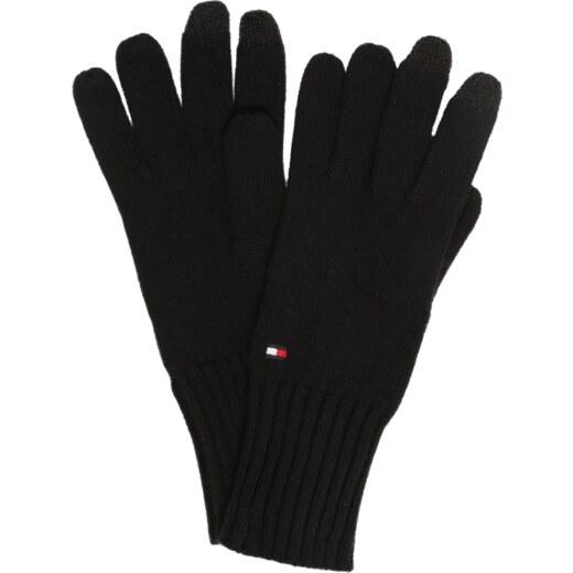 ce73d62ed TOMMY HILFIGER Prstové rukavice černá - Glami.cz