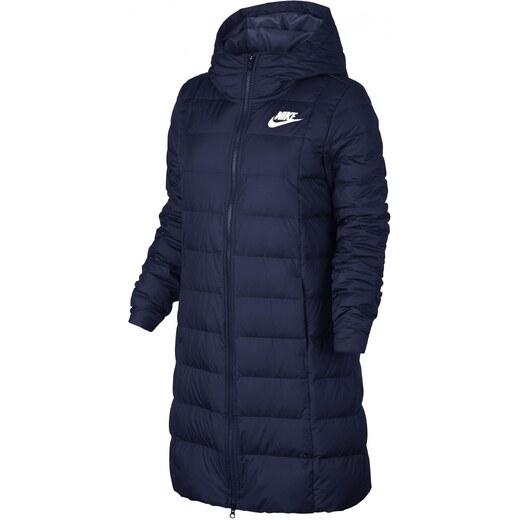 Nike Dámsky zimný kabát modrá - Glami.sk c86787697fb