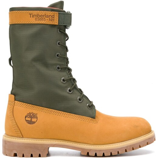 d02d23c90b7 Timberland special release mixed media gaiter boots - Yellow - Glami.cz