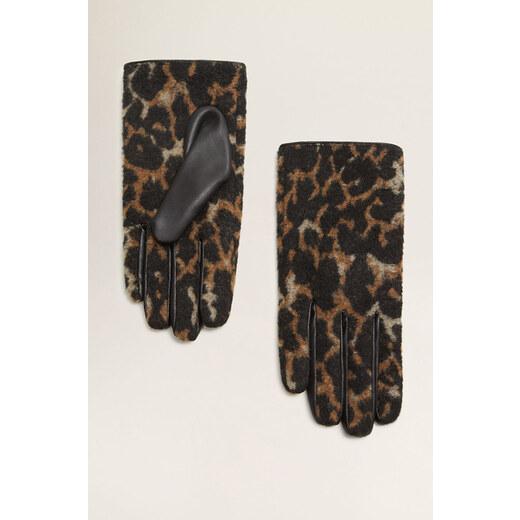 Mango - Kesztyű Leopardi - Glami.hu 38ba50fc31