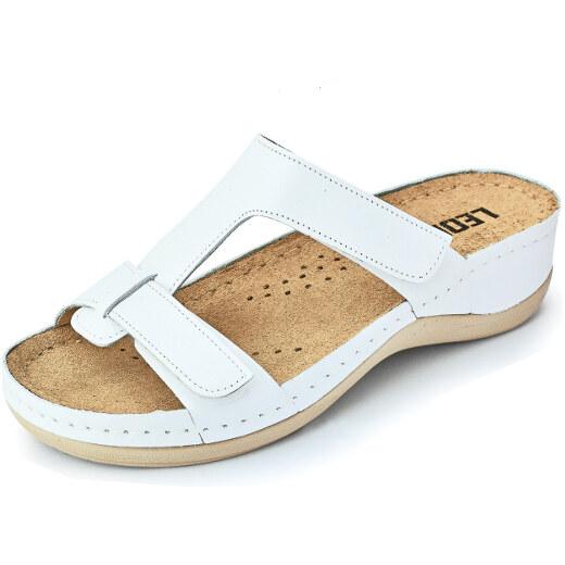 486898236199 Dámska kožená obuv - papuče LEON vz. 914 36 - Glami.sk