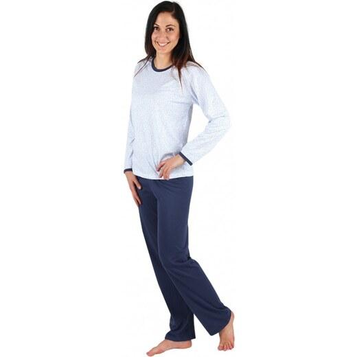 397347735 EVONA a.s. Dámske pyžamo P1406 sedmokráska modrá - P1406 364 S - Glami.sk