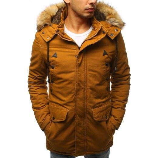 Téli mustár színű parka kabát - Glami.hu 3f65a7085f