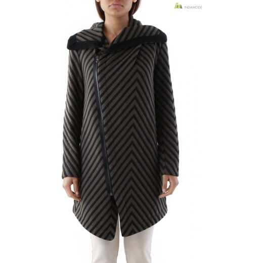 b1b1db28a5 Cristina Gavioli női kabát zöld csíkos WH4-CGR3057B - Glami.hu
