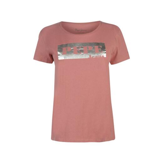 Pepe Jeans Logo T Shirt - Glami.cz 453c105377