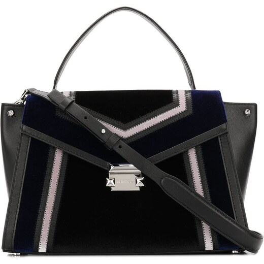 8178915eae Michael Michael Kors Whitney large tri-colour satchel - Black - Glami.sk