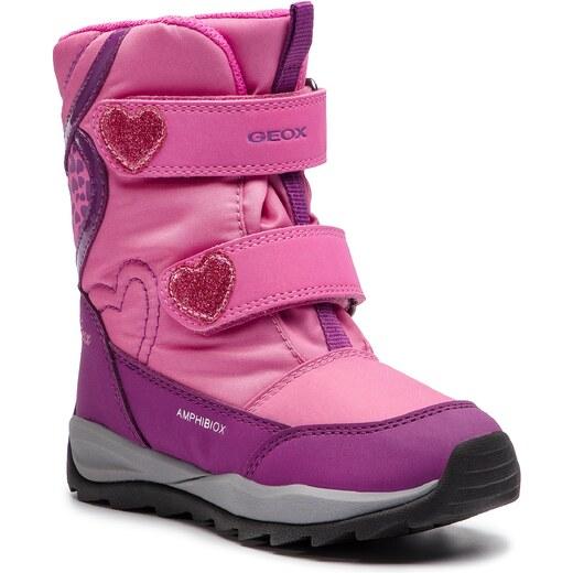 Sněhule GEOX - J Orizont B G.Abx E J842BE 0FU50 C8315 S Fuchsia Purple -  Glami.cz 834ba8da5cc