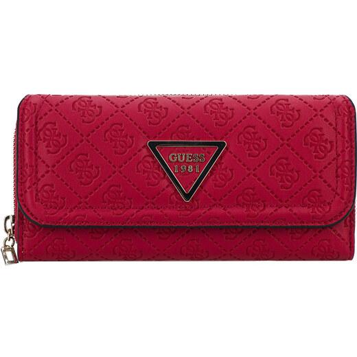 438d9eb09b Guess Dámska peňaženka Lyra SLG Large Clutch Red - Glami.sk