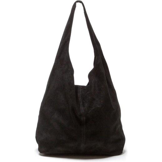 Černá kožená kabelka Isabella Rhea 885 - Glami.cz f69c227606