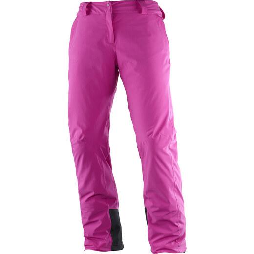 Dámské lyžařské kalhoty SALOMON ICEMANIA PANT W L39741300 ROSE VIOLET -  Glami.cz a954cdb82a