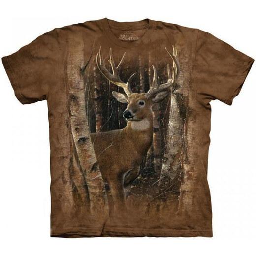 eb33ba28b1 The Mountain 3D póló szarvas az erdőben - Glami.hu