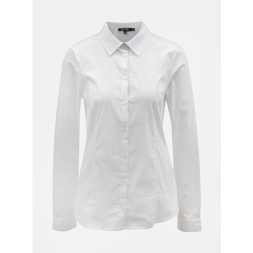 Bílá košile s dlouhým rukávem Yest - Glami.cz c8cece5e4b