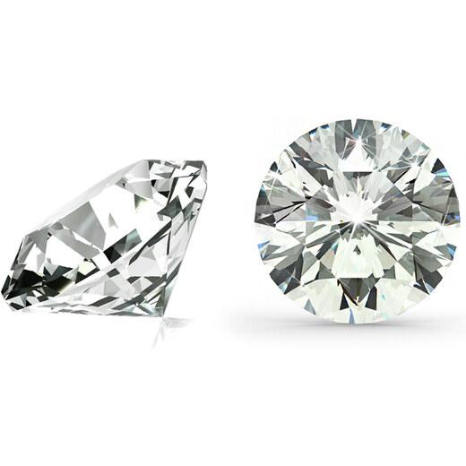 92ec06536 VS2 H 0.22 ct diamant certifikát EGL brus Round IZDI3698 - Glami.sk