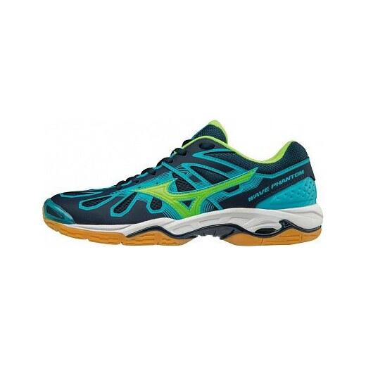 MIZUNO - obuv IN WAVE PHANTOM BLUE GREEN Velikost  42.5 - Glami.sk fe4ef9262e2