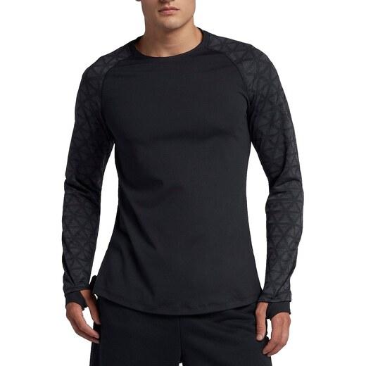 Nike M NP TOP LS UTILITY THRMA Hosszú ujjú póló 929703-010 - Glami.hu 383167e9ea