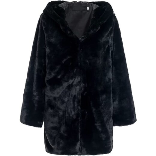 9ecadf2fb04 Perfect Originální hebký kabát kožich s kapucí - Glami.sk
