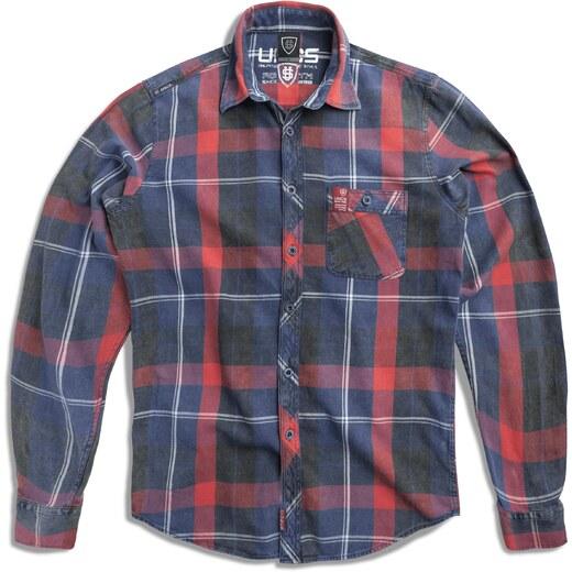 UNCS Pánská košile Wyatt RED - Glami.cz aa6257b394