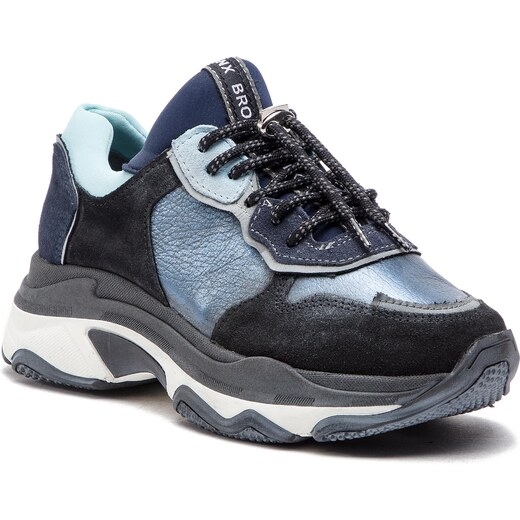 7fe2dee93e627 Sneakersy BRONX - 66167-HA BX 1525 Dark Blue 70 - Glami.sk