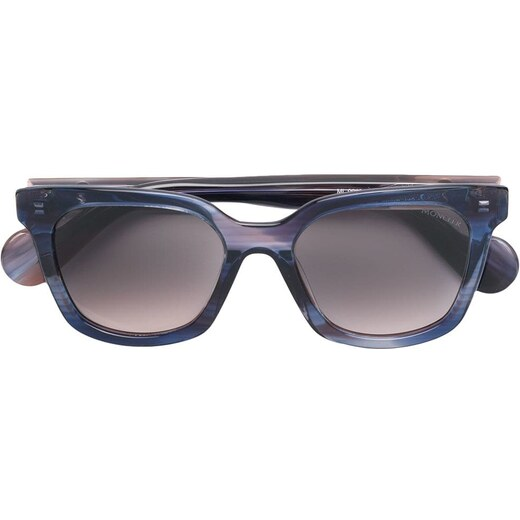 dbdd9ed37 Moncler Eyewear gradient square sunglasses - Blue - Glami.sk