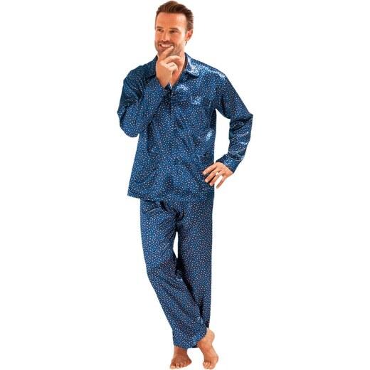 Blancheporte Saténové pyžamo nám. modrá - Glami.cz 924a216f0d