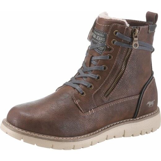 Mustang Shoes Zateplené čižmy hnedá - Glami.sk 0fc24f775c6