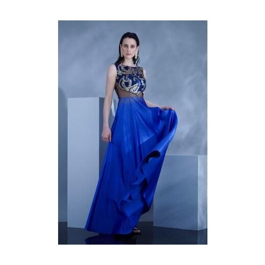 72b3266b4e9 FERVENTE Plesové šaty Magica
