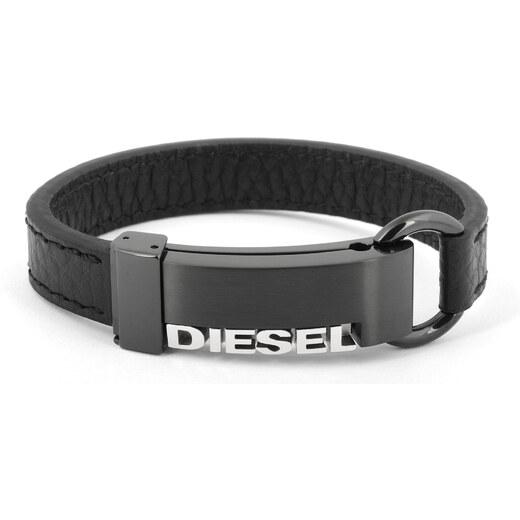 Pánský kožený náramek Diesel DX0002 - Glami.sk 104bb0a5b81