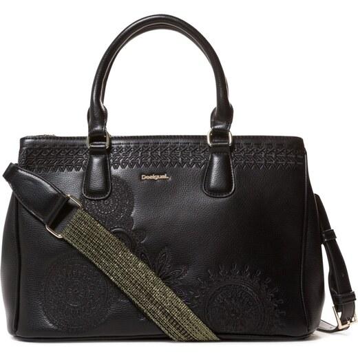 Desigual čierna kabelka Bols Dark Amber Cabo - Glami.sk 90a64e501b0