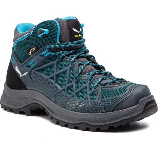 Trekingová obuv SALEWA - Wild Hiker Mid Gtx GORE-TEX 61341-0340 French  Blue Black 0340 - Glami.sk f578bdd54b9