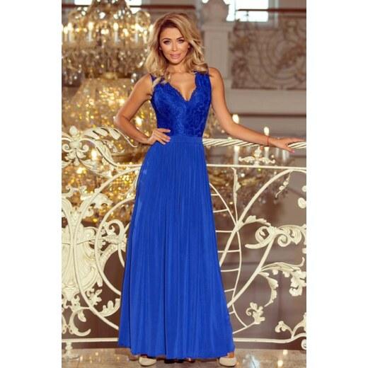 524817c73961 Dlhé modré šaty - Glami.sk