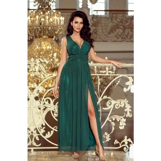 1405efdde34 Dlhé zelené šaty - Glami.sk