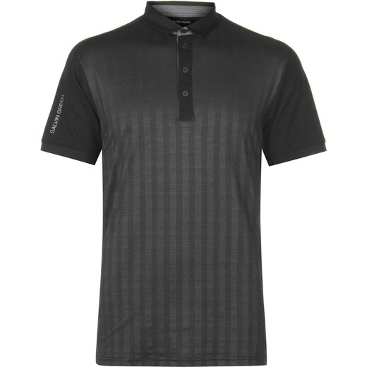 43d3d8a0d4e7 Galvin Green Mylo Polo Shirt Mens Black - Glami.cz
