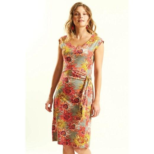 d2caff503e5f Nomads DAHLIA dámské letní šaty ze 100% biobavlny - růžová guava - Glami.cz