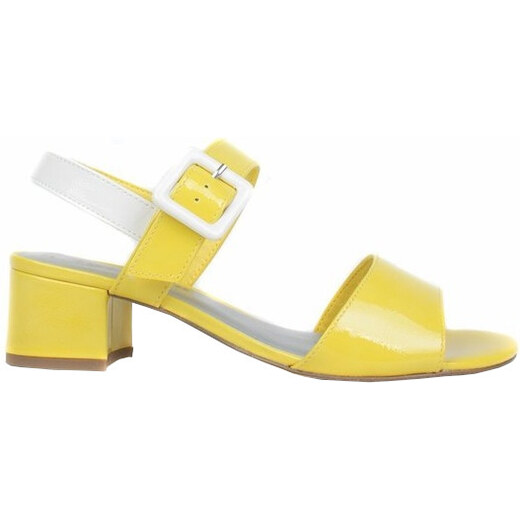 5aaef7af30e38 Tamaris Dámske sandále 1-1-28211-22-612 Sunn/White Pat - Glami.sk